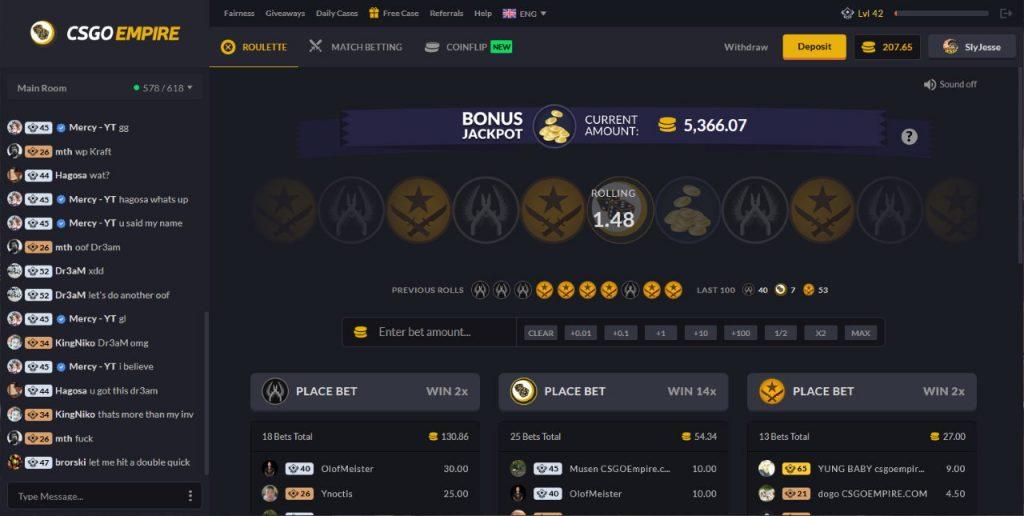 CS:GO betting site